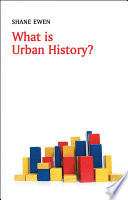 What Is Urban History