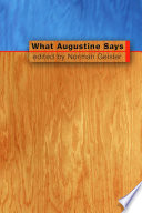What Augustine Says The Christian Church Between Paul