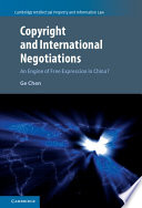 Copyright and International Negotiations