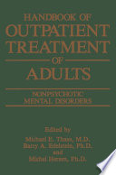Handbook of Outpatient Treatment of Adults