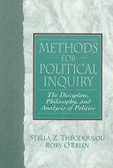 Methods for Political Inquiry