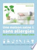 illustration du livre Une maison saine et sans allergies