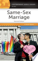 Same Sex Marriage  A Reference Handbook  2nd Edition