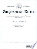 Congressional Record V 151 Pt 6 April 21 2005 To May 5 2005