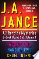 J A  Jance s Ali Reynolds Mysteries 3 Book Boxed Set  Volume 1