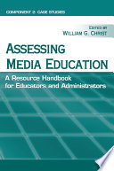 Assessing Media Education  component 2  Case studies