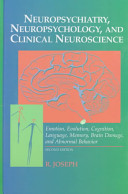 Neuropsychiatry Neuropsychology And Clinical Neuroscience