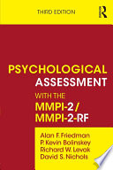 Psychological Assessment with the MMPI 2 MMPI 2 RF