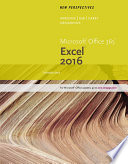 New Perspectives Microsoft Office 365   Excel 2016  Introductory
