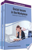 Social Issues In The Workplace Breakthroughs In Research And Practice book