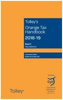 Tolley s Orange Tax Handbook 2018 19