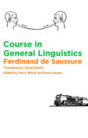 download ebook course in general linguistics pdf epub