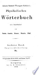 Physikalisches w  rterbuch