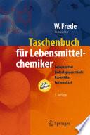 Taschenbuch für Lebensmittelchemiker