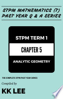 STPM 2017 MT Term 1 Chapter 05 Analytic Geometry   STPM Mathematics  T  Past Year Q   A