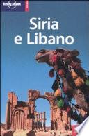 Copertina Libro Siria e Libano
