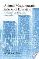 Attitude Measurements in Science Education