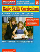 Basic Skills Curriculum