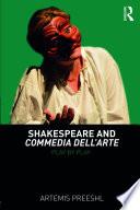 Shakespeare and Commedia dell Arte