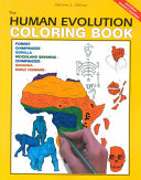 The Human Evolution Coloring Book  2e