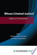 Whose Criminal Justice