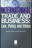 International Trade & Business Law & Policy