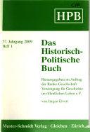Das Historisch-politische Buch