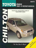 Chilton S Toyota Rav4 1996 10 Repair Manual