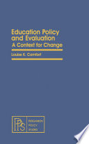 Education Policy And Evaluation book