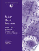 Foreign Direct Investment  Trends  Data Availability  Concepts  and Recording Practices