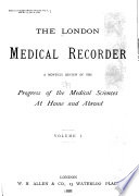 The London Medical Recorder