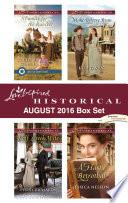 Harlequin Love Inspired Historical August 2016 Box Set