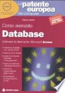 La Patente Europea Del Computer Corso Avanzato Database Microsoft Access