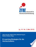 E-Learning-Strategien für die Hochschullehre
