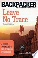 Leave No Trace Book PDF