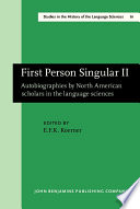 First Person Singular Ii book