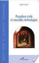illustration du livre Procédure civile et nouvelles technologies