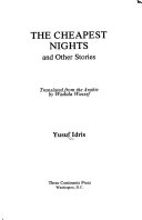 The Cheapest Nights  and Other Stories