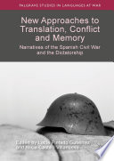 New Approaches To Translation Conflict And Memory