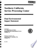 Proposed Service Processing Center (SPC), Northern CA, San Joaquin County