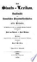 Das Staats-Lexikon