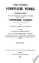 Franz von Baader  als Begr  nder der Philosophie der Zukunft