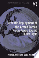 Domestic Deployment of the Armed Forces
