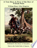 A True Hero  A Story of the Days of William Penn