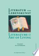 Literatur und Lebenskunst