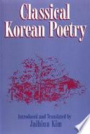 Classical Korean Poetry