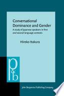 Conversational Dominance And Gender