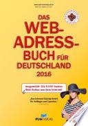 Das Web-Adressbuch für Deutschland 2016 - Ebook Ausgabe