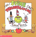 Book How Spider Saved Thanksgiving