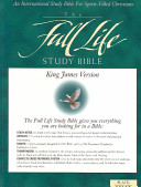 The Full Life Study Bible